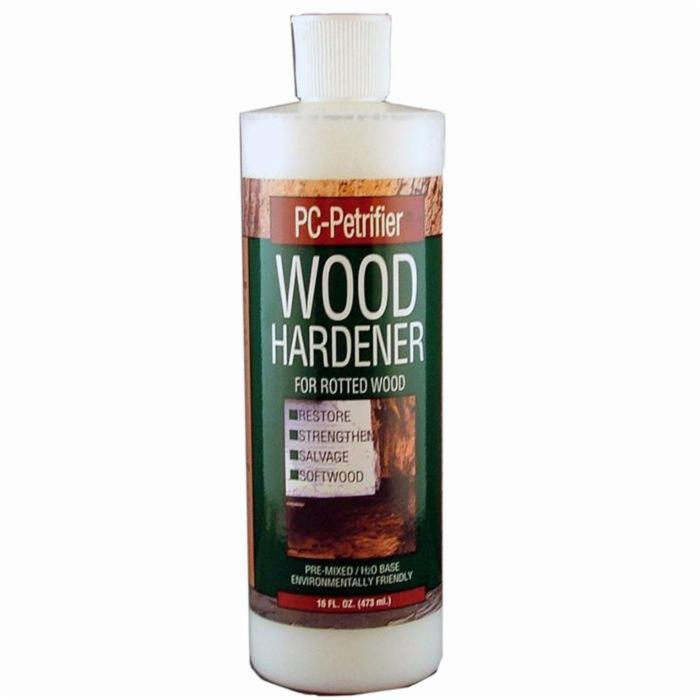 PC Products PC-Petrifier Water-Based Wood Hardener, 16 oz, Milky White 164440